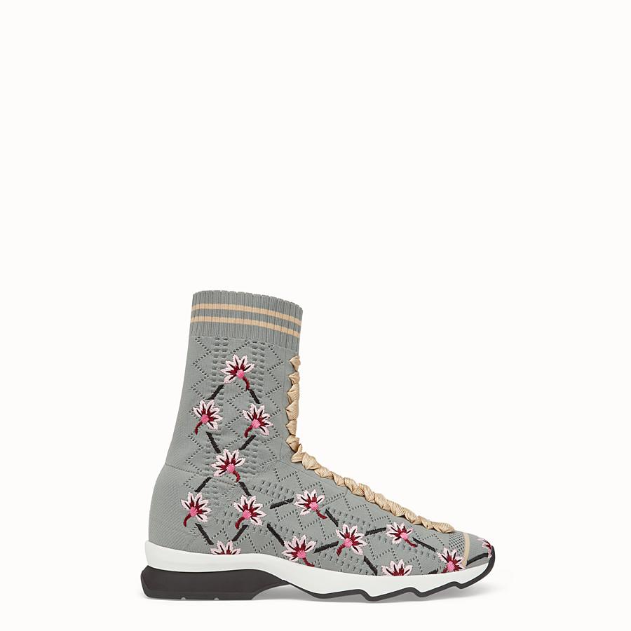 FENDI 運動鞋 - 灰色布料運動鞋 - view 1 detail