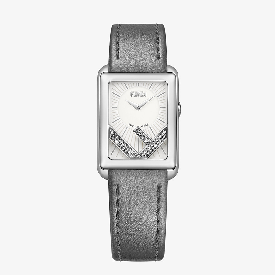 FENDI RUN AWAY - 22.5 x 32 MM - Watch with F is Fendi logo - view 1 detail