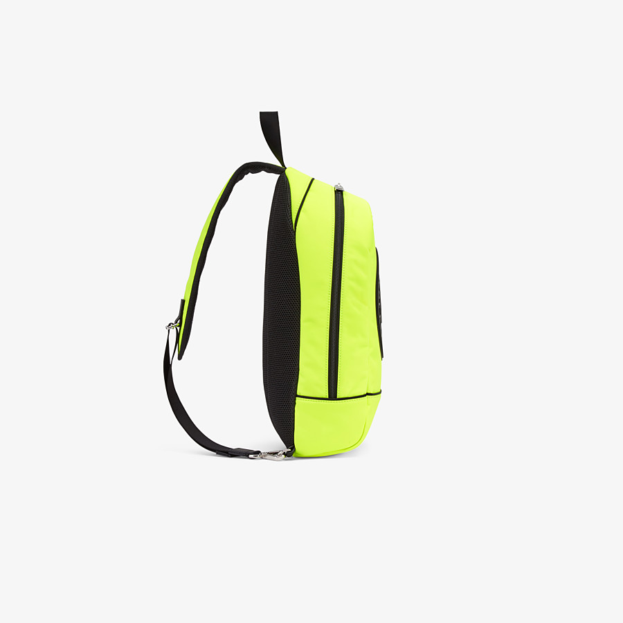 FENDI BABY BACKPACK - Yellow nylon backpack - view 2 detail