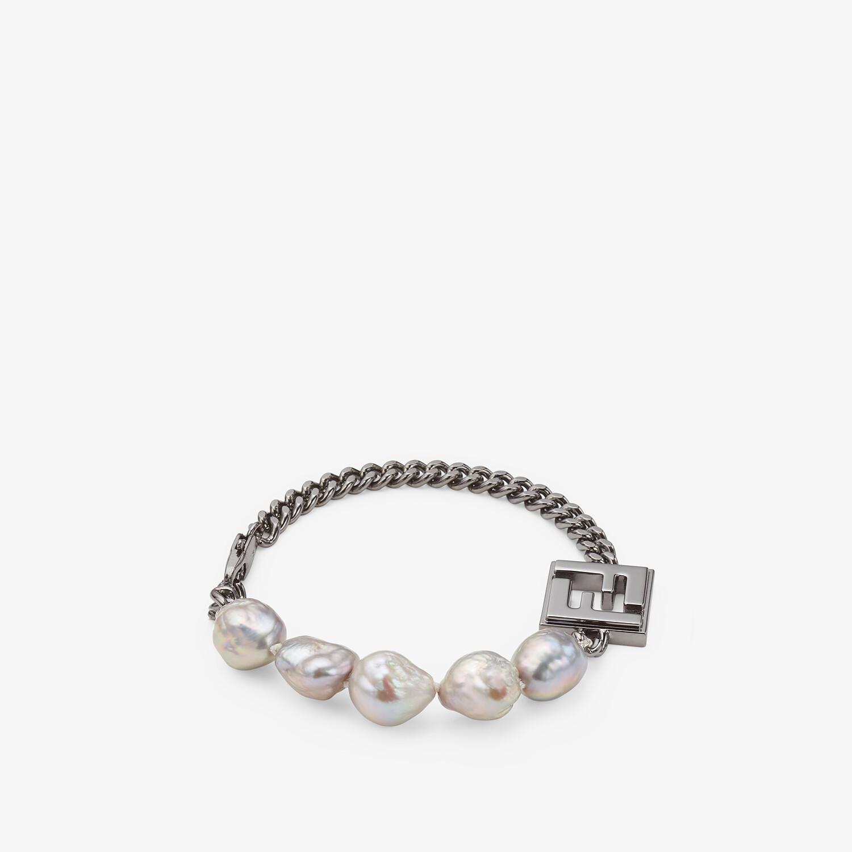 FENDI BRACELET - Ruthenium-coloured bracelet - view 1 detail