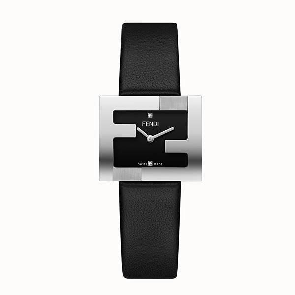 FENDI FENDIMANIA - 24 x 20 mm - Montre avec lunette au logo FF - view 1 small thumbnail