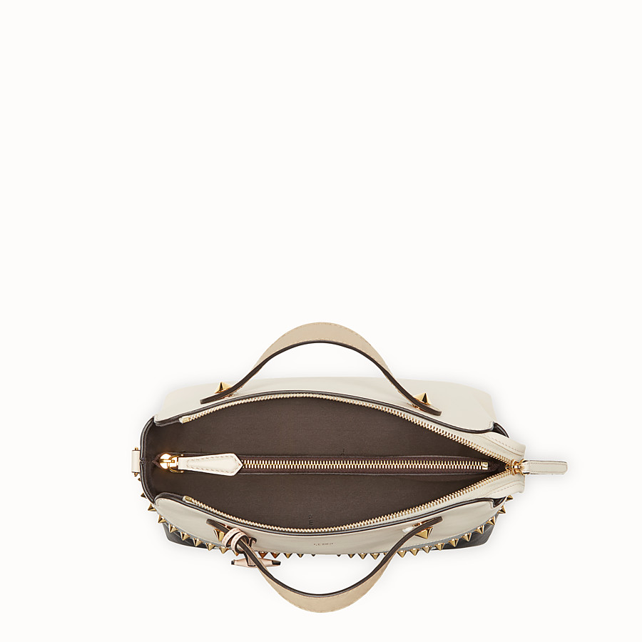 FENDI BY THE WAY REGULAR - Multicolour leather Boston bag - view 4 detail