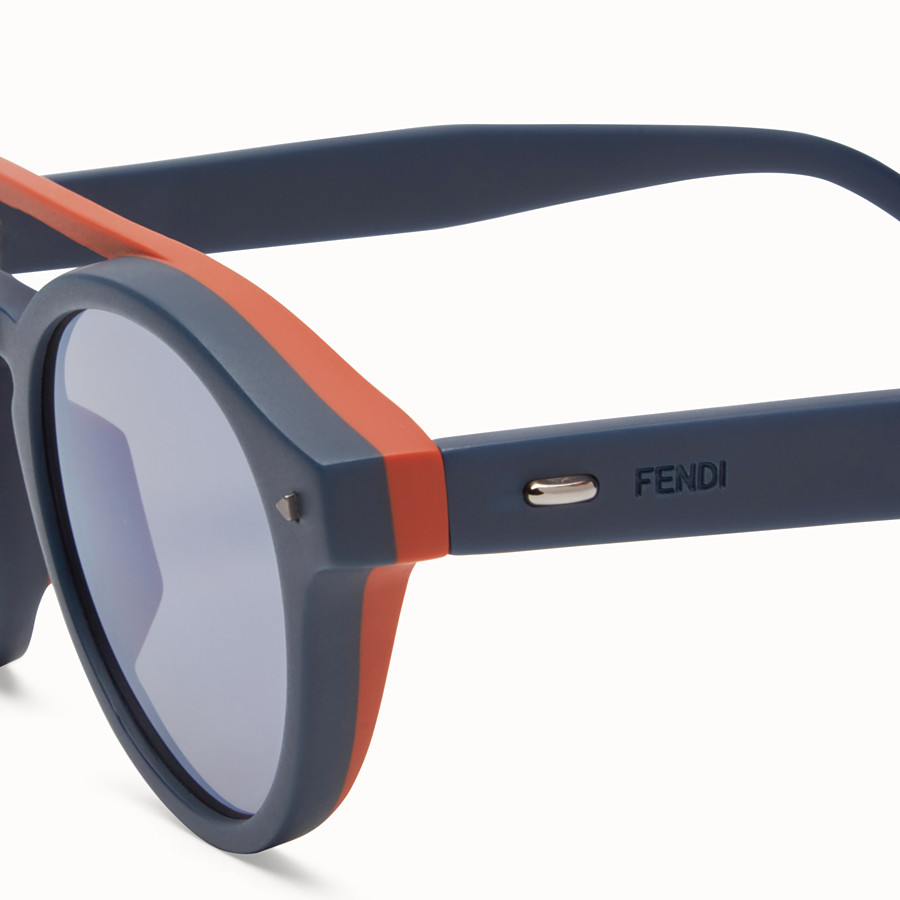 FENDI I SEE YOU - Blue sunglasses - view 3 detail