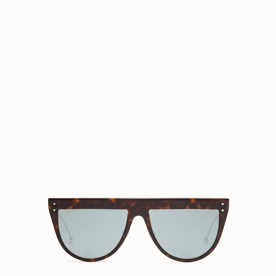 FENDI DEFENDER - Havana sunglasses - view 1 detail