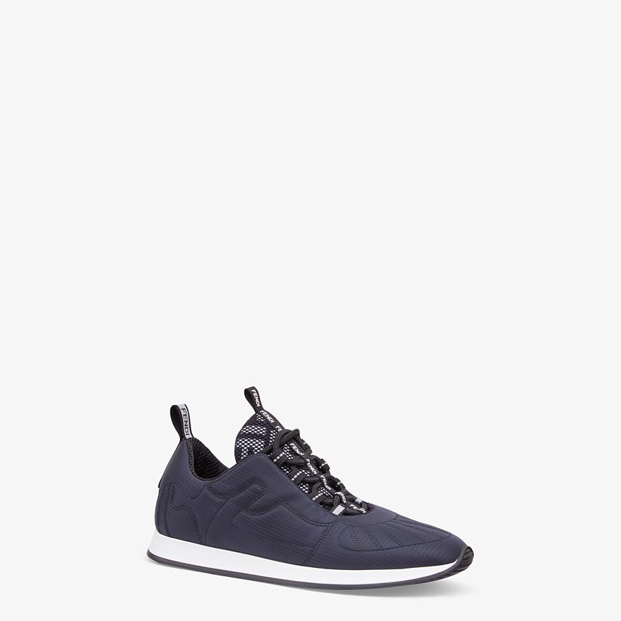 FENDI SNEAKERS - Sneakers en nylon bleu - view 2 detail