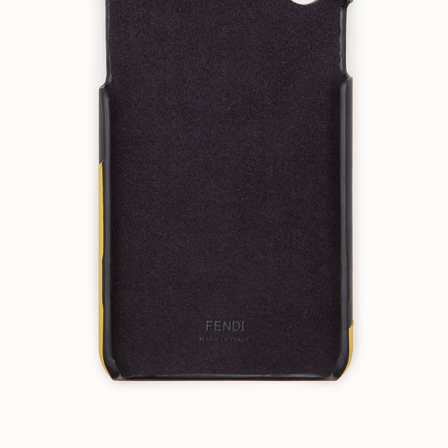 FENDI iPHONE X CASE - Black case - view 2 detail