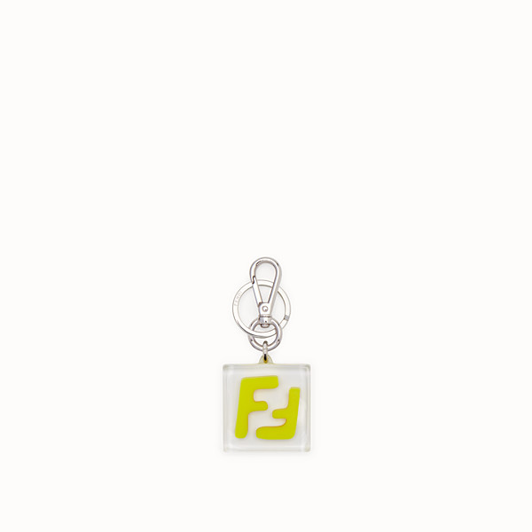 FENDI KEY RING - Key ring in transparent yellow plexiglass - view 1 small thumbnail