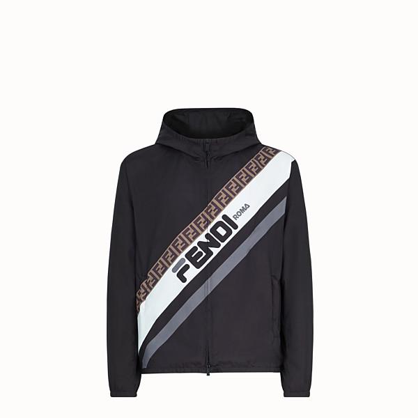 FENDI 防風外套 - 灰色尼龍風衣 - view 1 小型縮圖