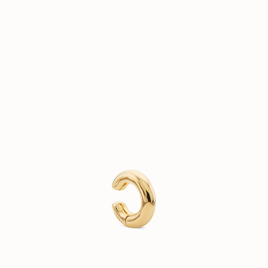 FENDI FENDIOOPS EARRING - Gold-colour earring - view 1 detail