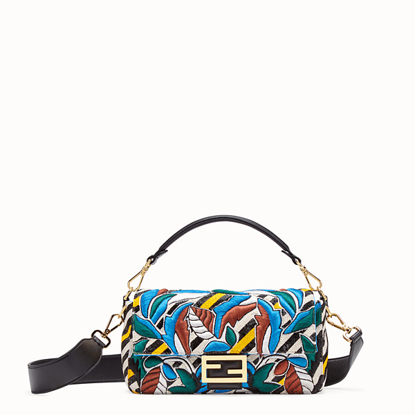 FENDI BAGUETTE - Bag with multicolour embroidery - view 1 small thumbnail