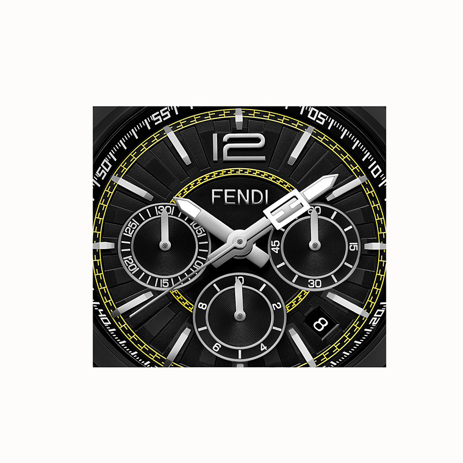 FENDI MOMENTO FENDI - 46 mm - Chronograph mit Metallarmband - view 3 detail