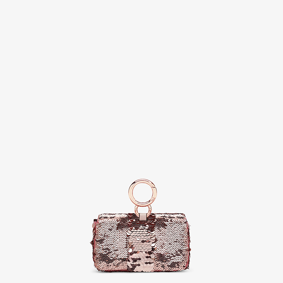 FENDI NANO BAGUETTE CHARM - Charm from the Chinese New Year Limited Capsule Collection - view 3 detail