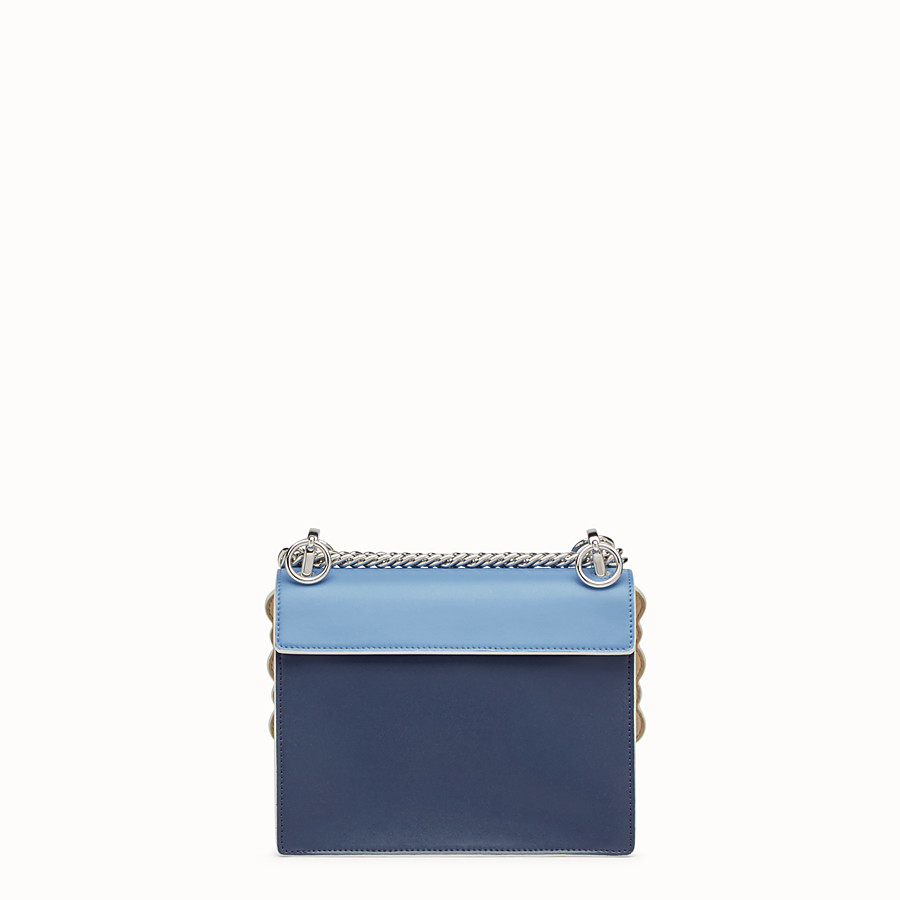 FENDI KAN I SMALL - Multicolour leather mini-bag - view 3 detail