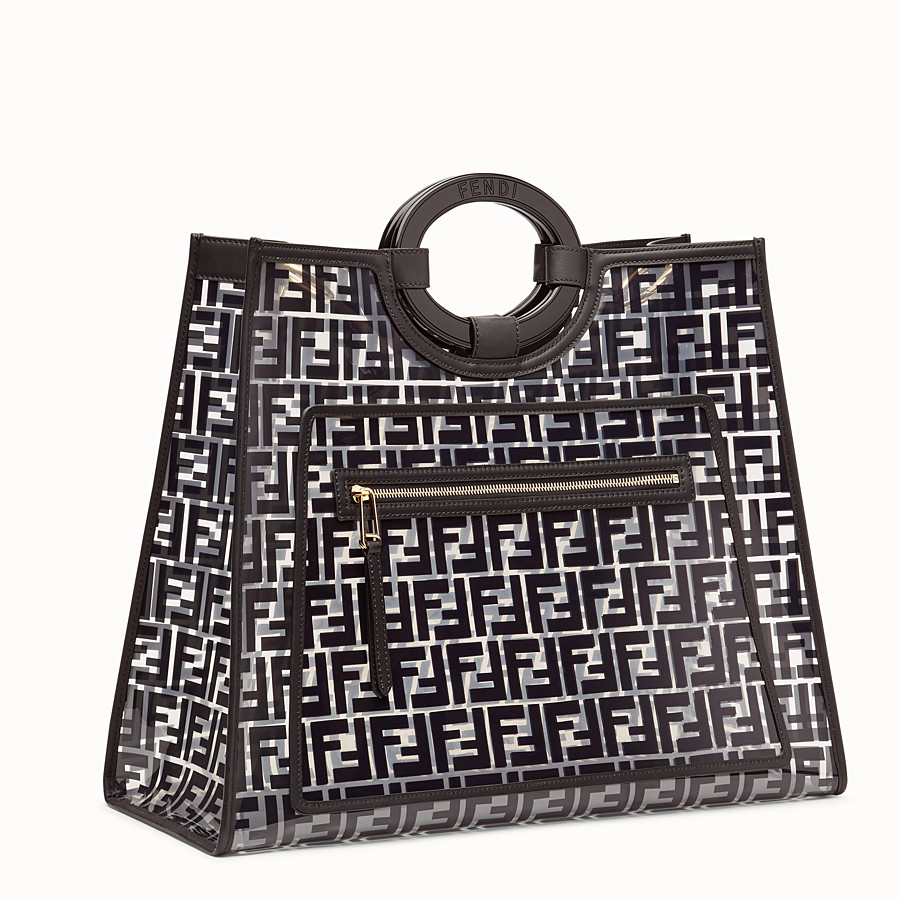 FENDI RUNAWAY SHOPPING - Sac shopping en PU - view 3 detail