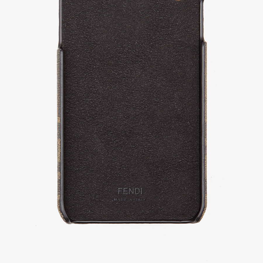 FENDI iPHONE X COVER - Cover in Braun - view 2 detail