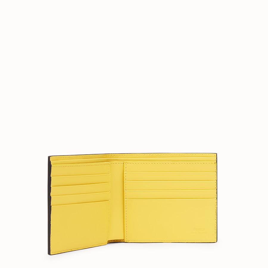 FENDI PORTEFEUILLE - Portefeuille en cuir multicolore - view 3 detail