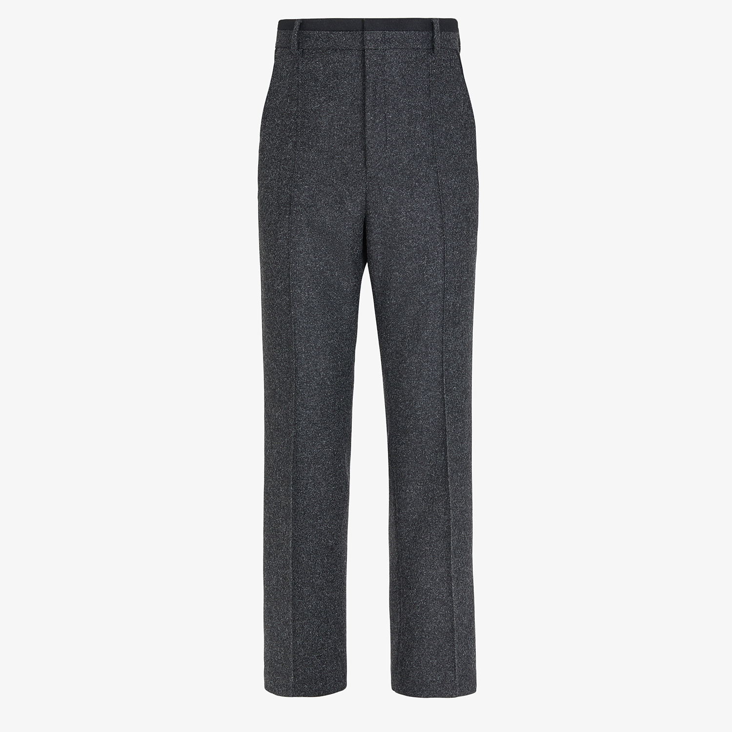 FENDI PANTS - Gray wool pants - view 1 detail