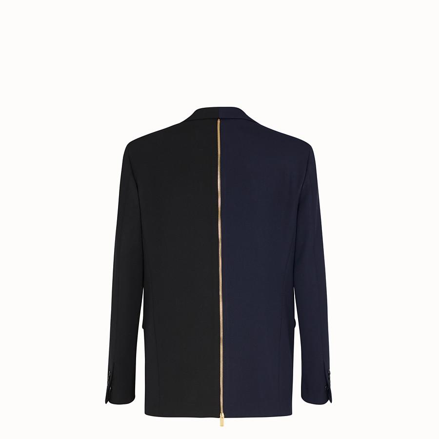 FENDI JACKET - Multicolour gabardine blazer - view 2 detail