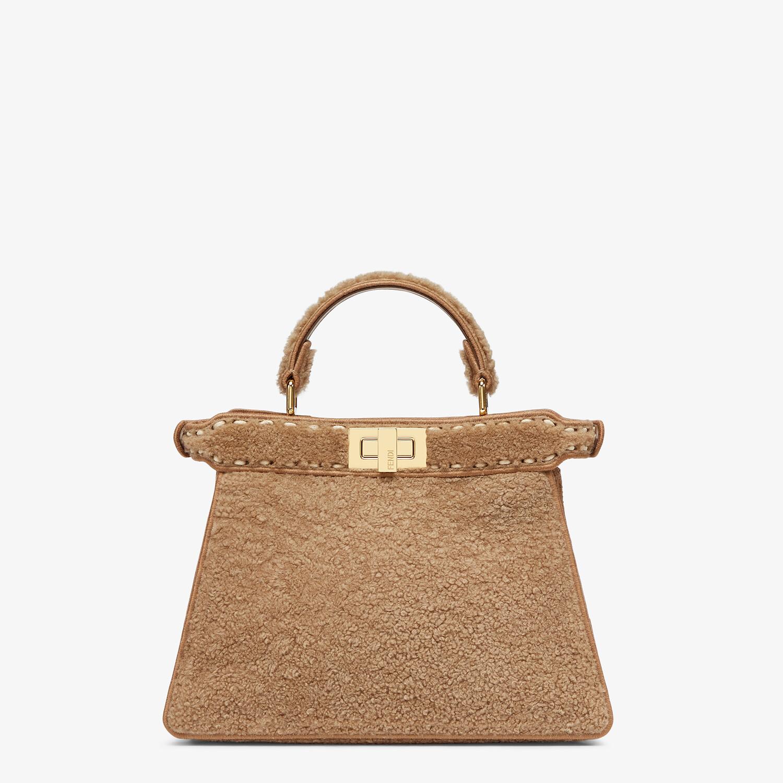 FENDI PEEKABOO ISEEU SMALL - Beige sheepskin bag - view 4 detail