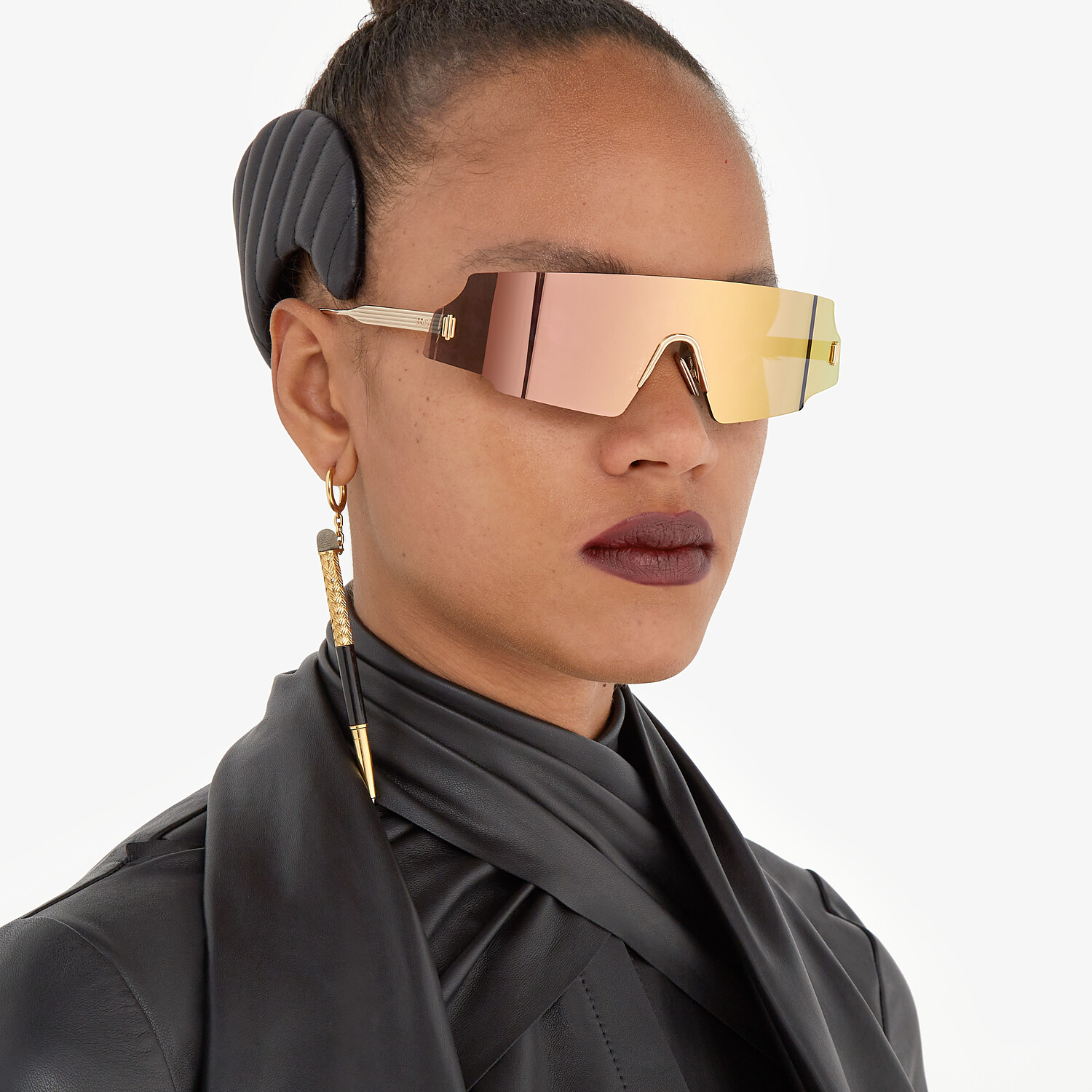 FENDI FENDI FORCEFUL - Fashion Show Sunglasses - view 4 detail