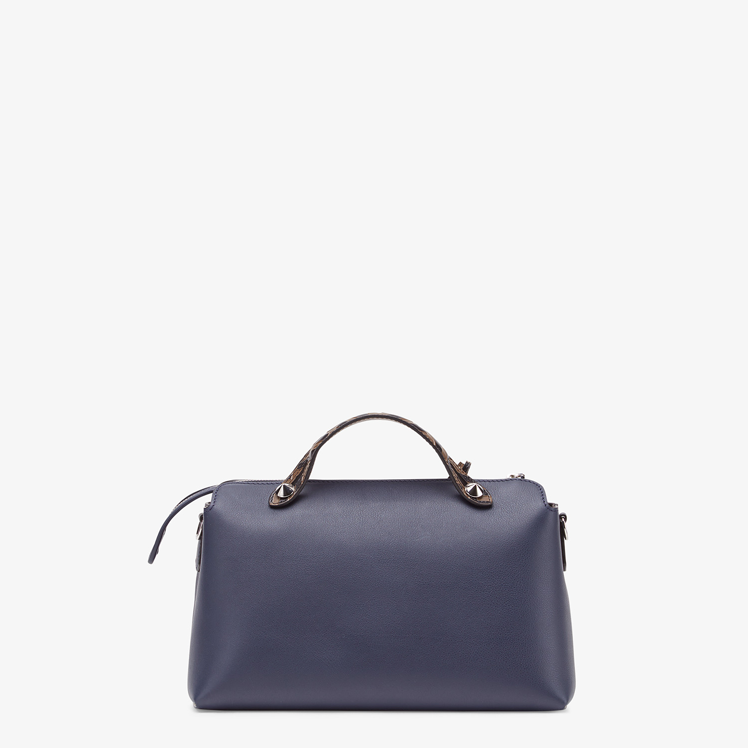 FENDI BY THE WAY MEDIUM - Blue leather Boston bag - view 4 detail