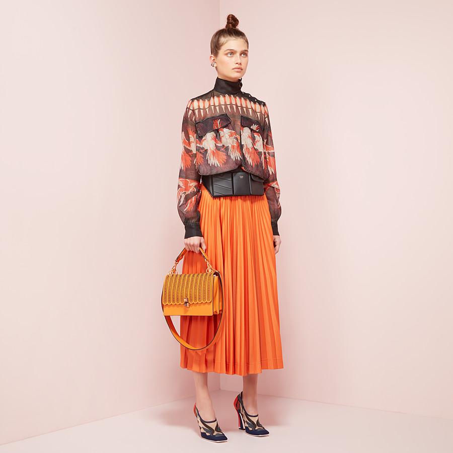 FENDI BLOUSE - Multicolor mesh blouse - view 4 detail