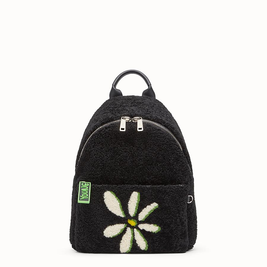 FENDI 背包 - 黑色羊皮背包 - view 1 detail