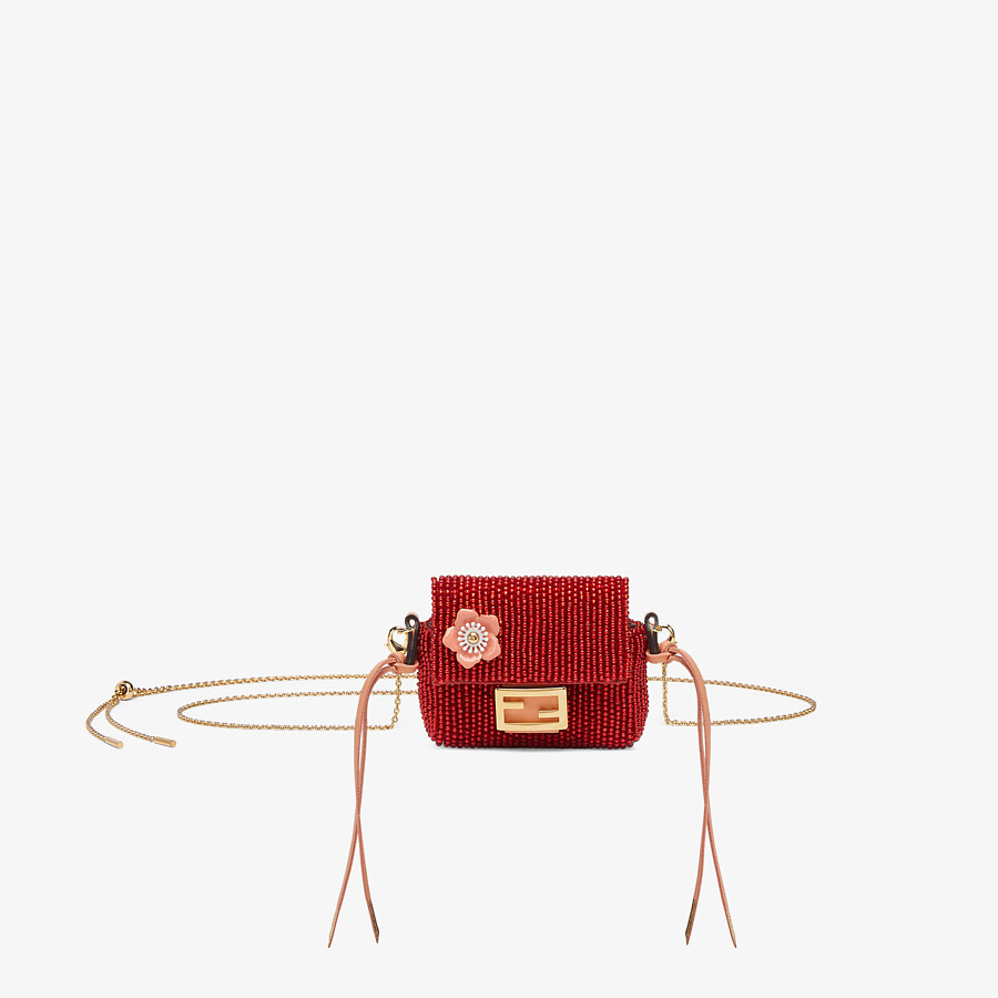 FENDI PICO BAGUETTE CHARM - Charm from the Lunar New Year Limited Capsule Collection - view 1 detail