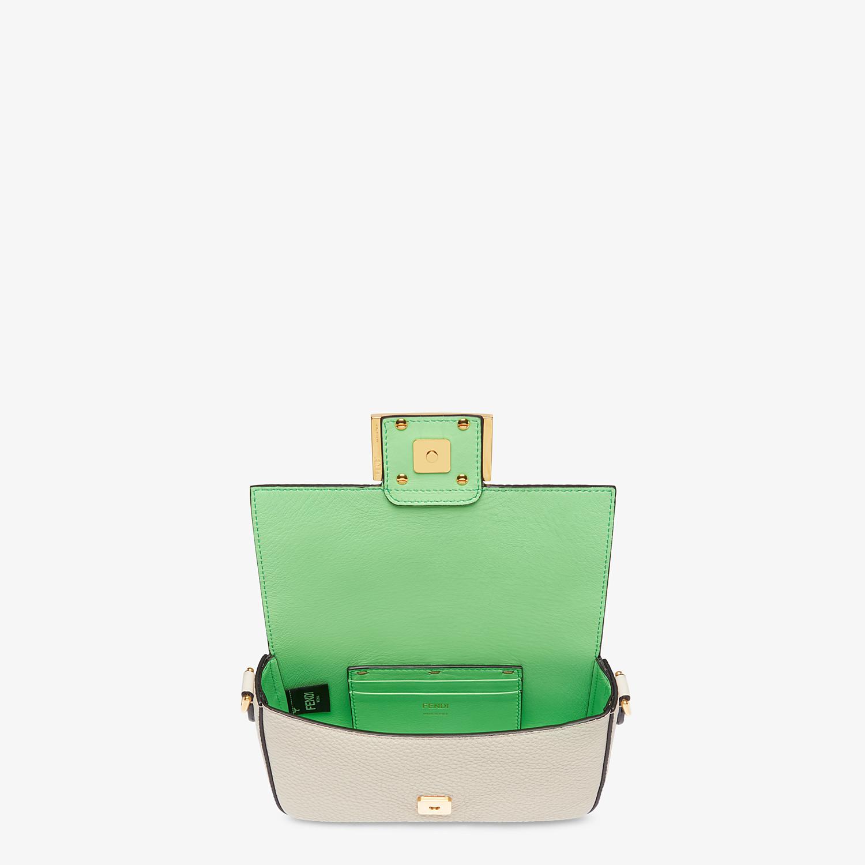 FENDI BAGUETTE MINI - Fendi Roma Amor leather bag - view 4 detail