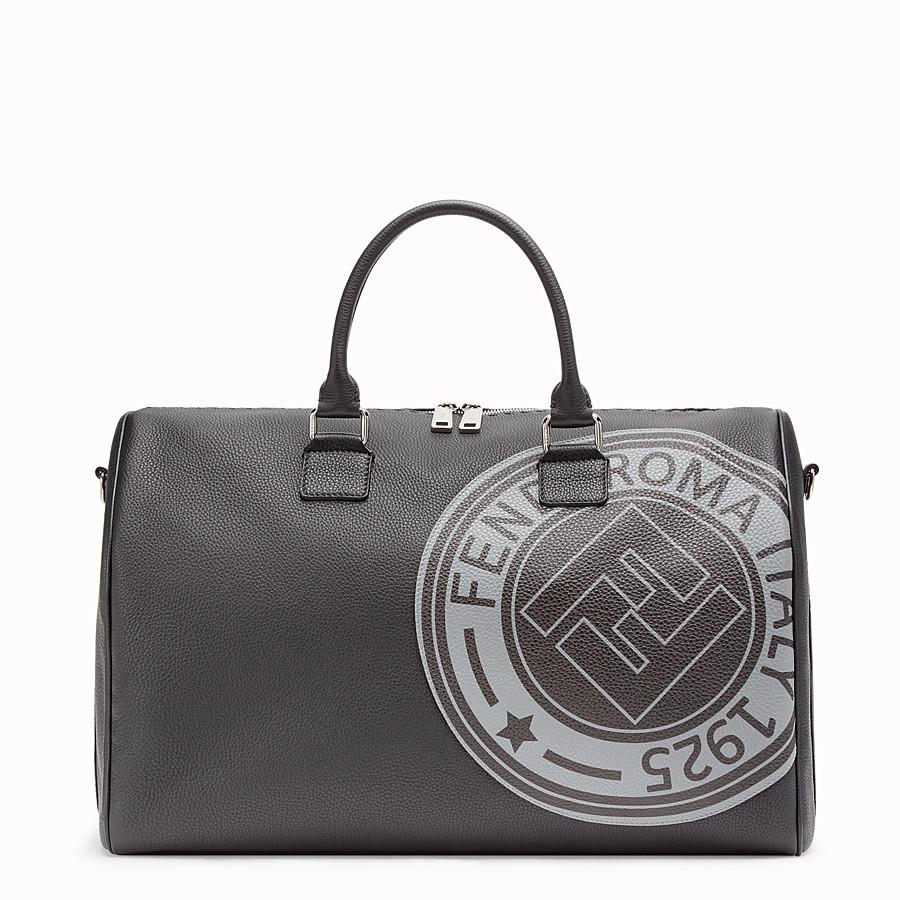 8315324dc9 Black leather holdall bag - DUFFLE BAG