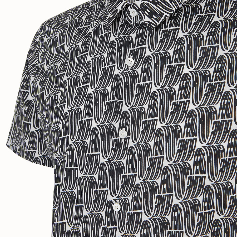 FENDI SHIRT - Fendi Roma Amor cotton shirt - view 3 detail