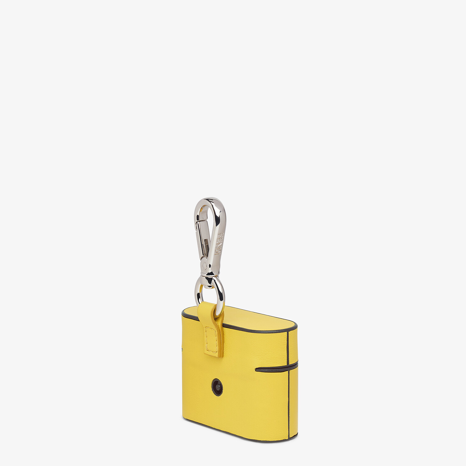 FENDI HEADPHONE HOLDER - Yellow leather cover - view 2 detail