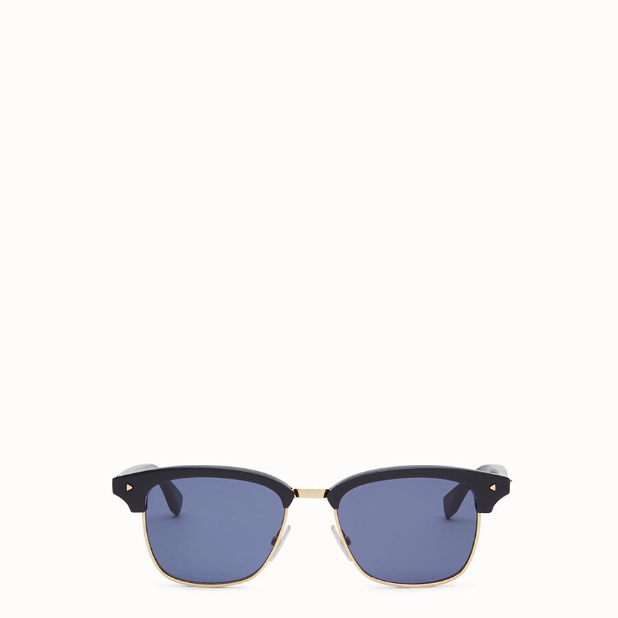 FENDI 펜디 썬 펀 - 블루와 로즈 골드 컬러의 선글라스 - view 1 detail