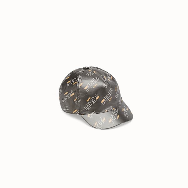 FENDI BASEBALL CAP - Brown nylon baseball cap - view 1 small thumbnail