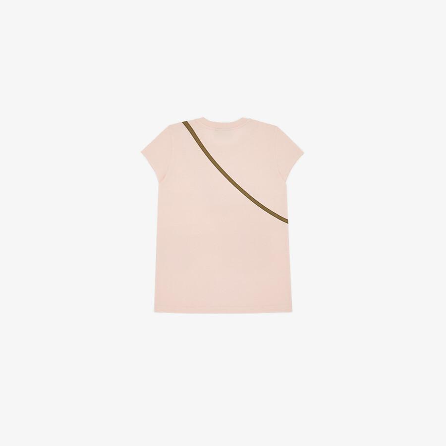 FENDI T-SHIRT - Jersey junior girl T-shirt - view 2 detail