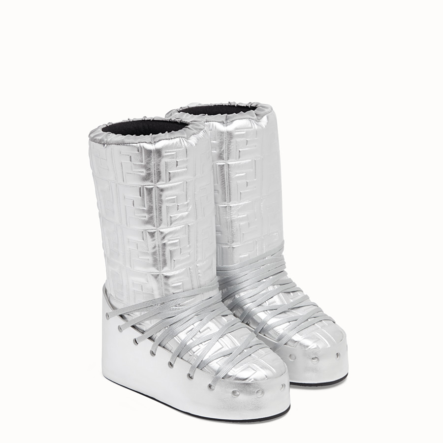 FENDI SKI BOOT - Fendi Prints On leather boots - view 4 detail