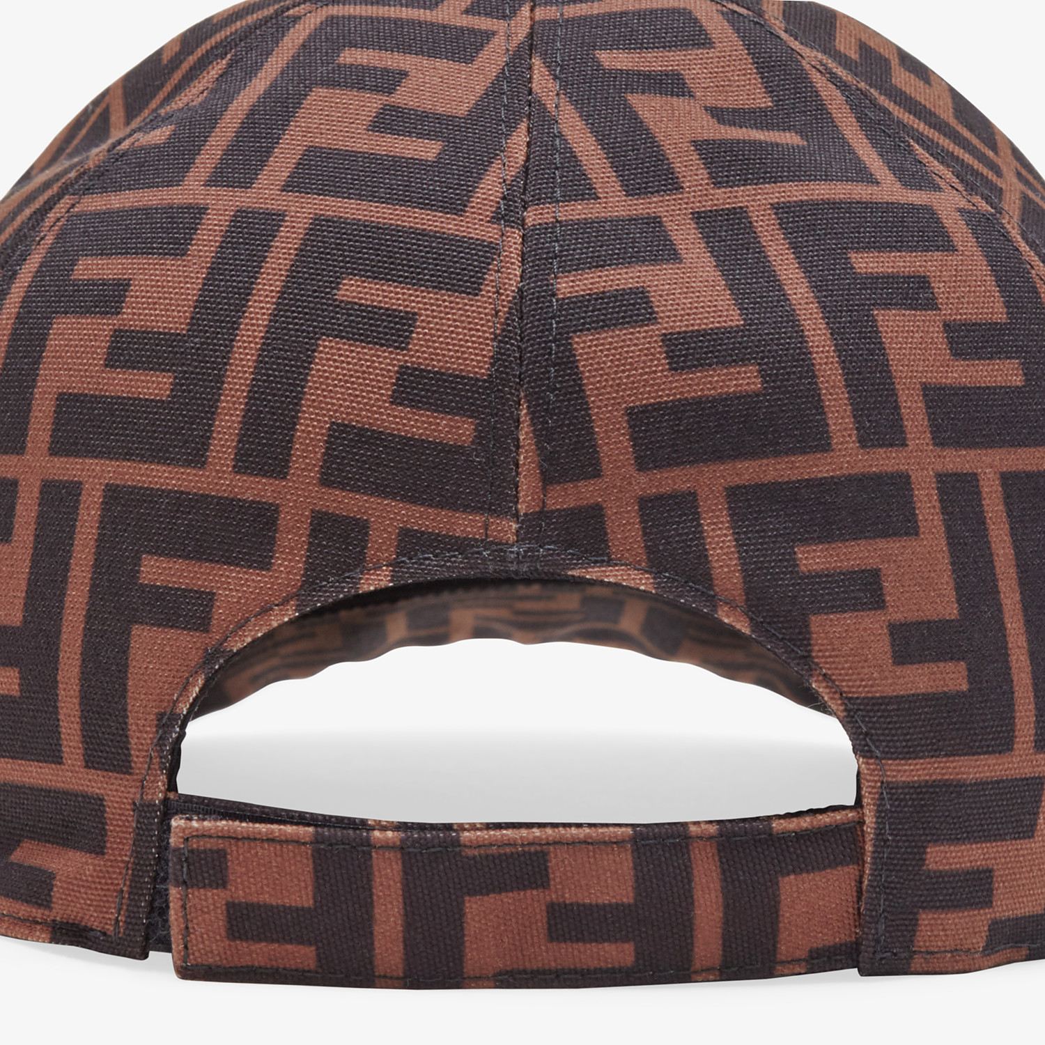 FENDI HAT - Multicolor canvas baseball cap - view 2 detail