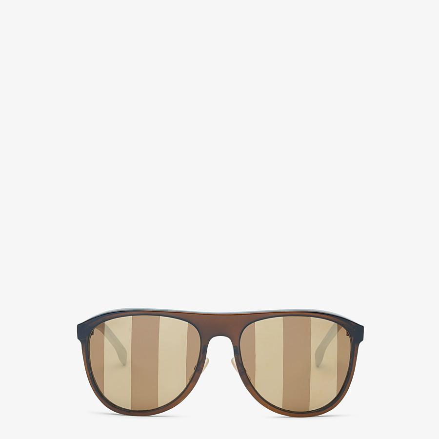 FENDI BOTANICAL FENDI - Brown sunglasses - view 1 detail