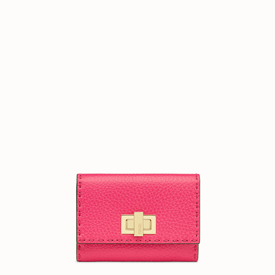 FENDI CONTINENTAL MEDIUM - Fendi Roma Amor leather wallet - view 1 detail