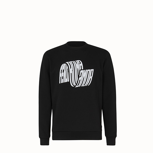 FENDI SWEAT-SHIRT - Pull Fendi Roma Amor en jersey - view 1 small thumbnail