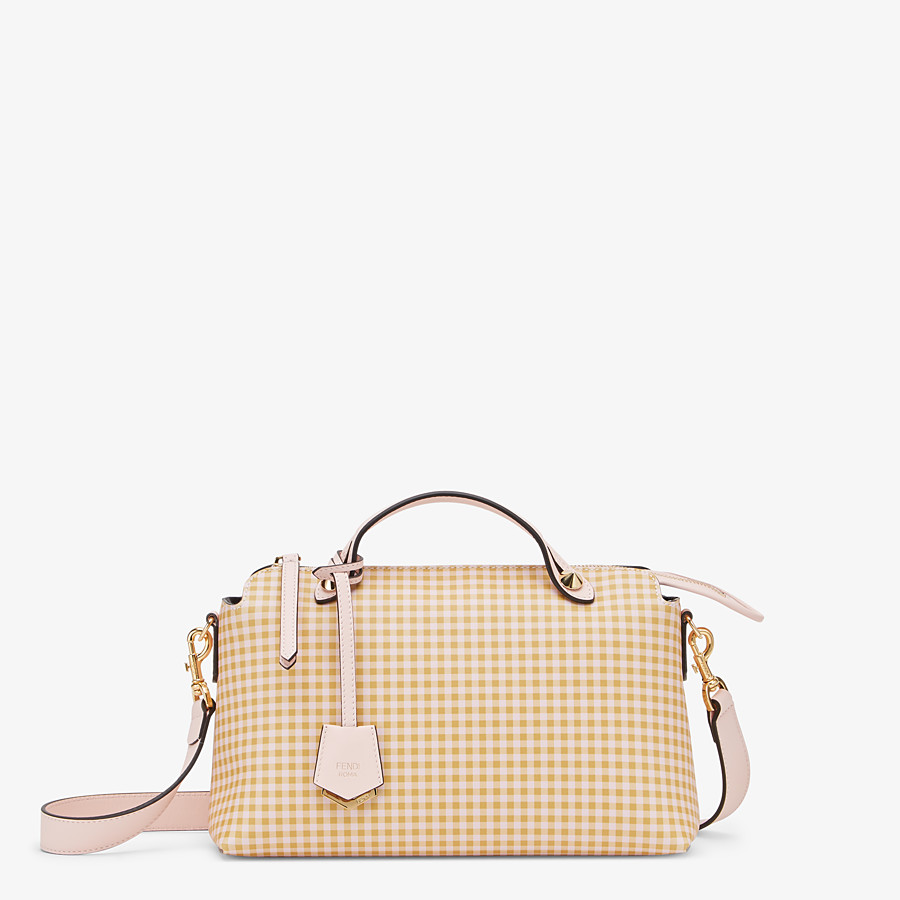 FENDI BY THE WAY MEDIUM - Pink leather Boston bag - view 1 detail