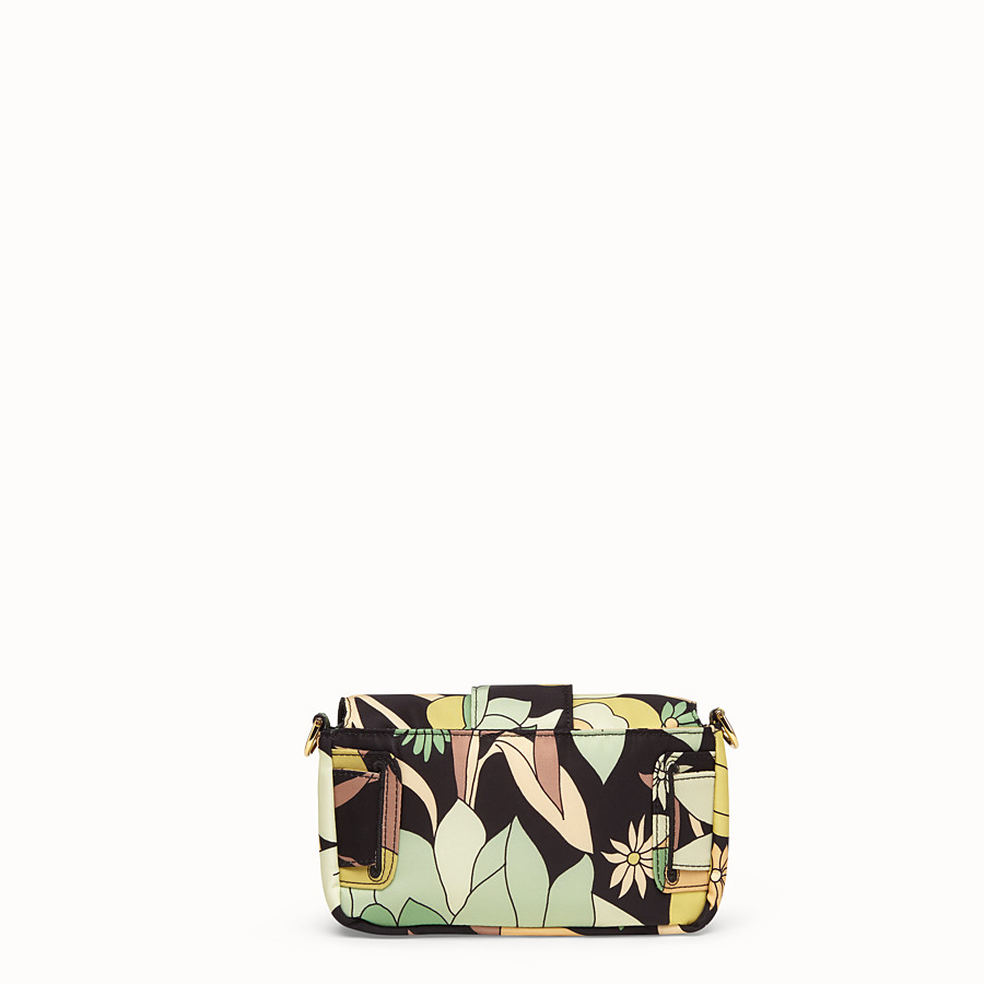 FENDI BAGUETTE - Green nylon bag - view 5 detail