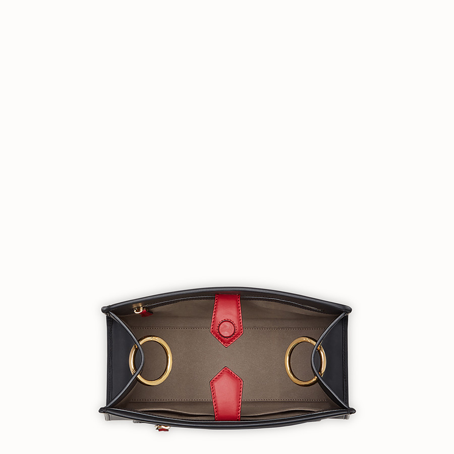 FENDI RUNAWAY SMALL - Multicolour leather bag - view 4 detail