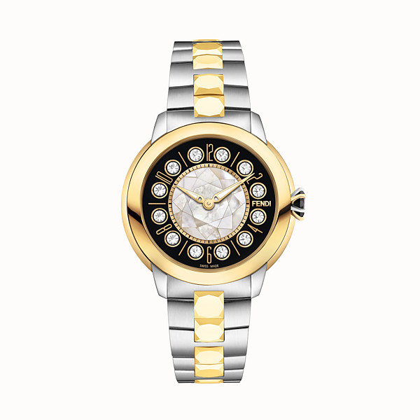 FENDI FENDI ISHINE - 33 MM - Watch with rotating gemstones - view 1 small thumbnail