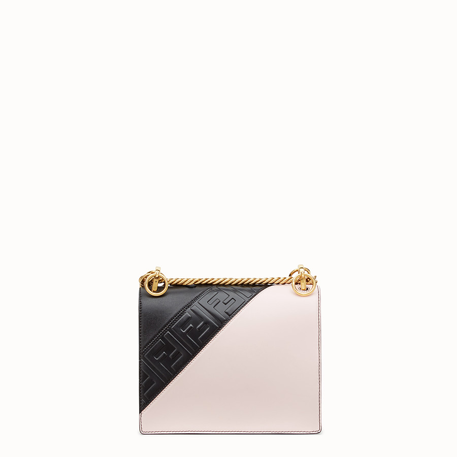 FENDI KAN I SMALL - Multicolour leather minibag - view 3 detail