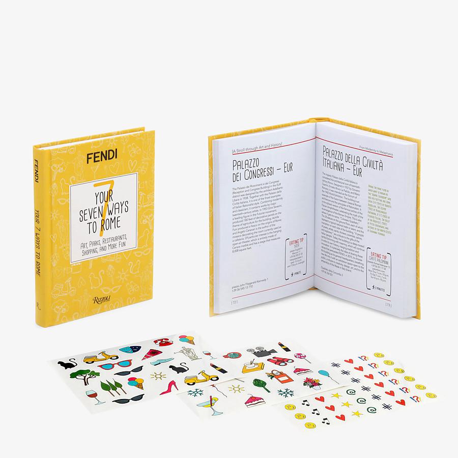 FENDI YOUR SEVEN WAYS TO ROME - Hardcover Buch erhältlich in Italienisch - view 2 detail