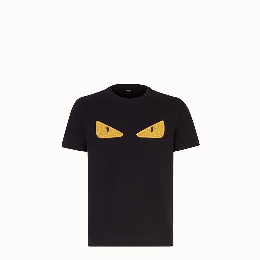 fbe483e7 Black jersey T-shirt - T-SHIRT | Fendi