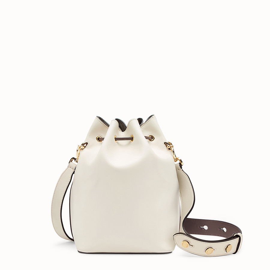 FENDI MON TRESOR - White leather bag - view 3 detail