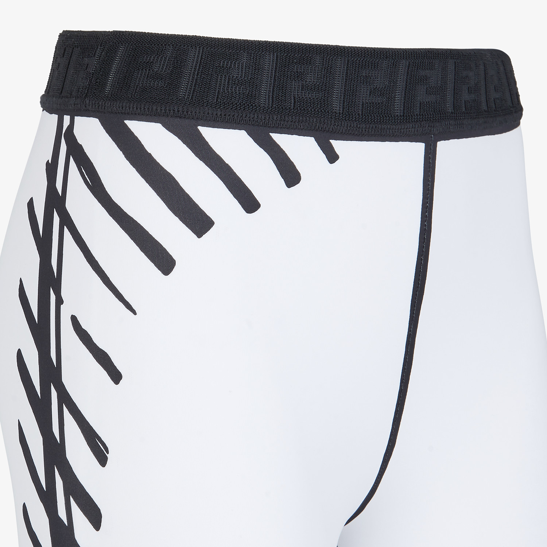 FENDI LEGGINGS - Fendi Roma Joshua Vides tech fabric leggings - view 3 detail
