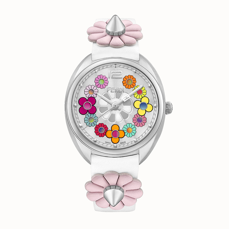 FENDI MOMENTO FENDI - 34 mm - Watch with flowers and strap - view 1 detail